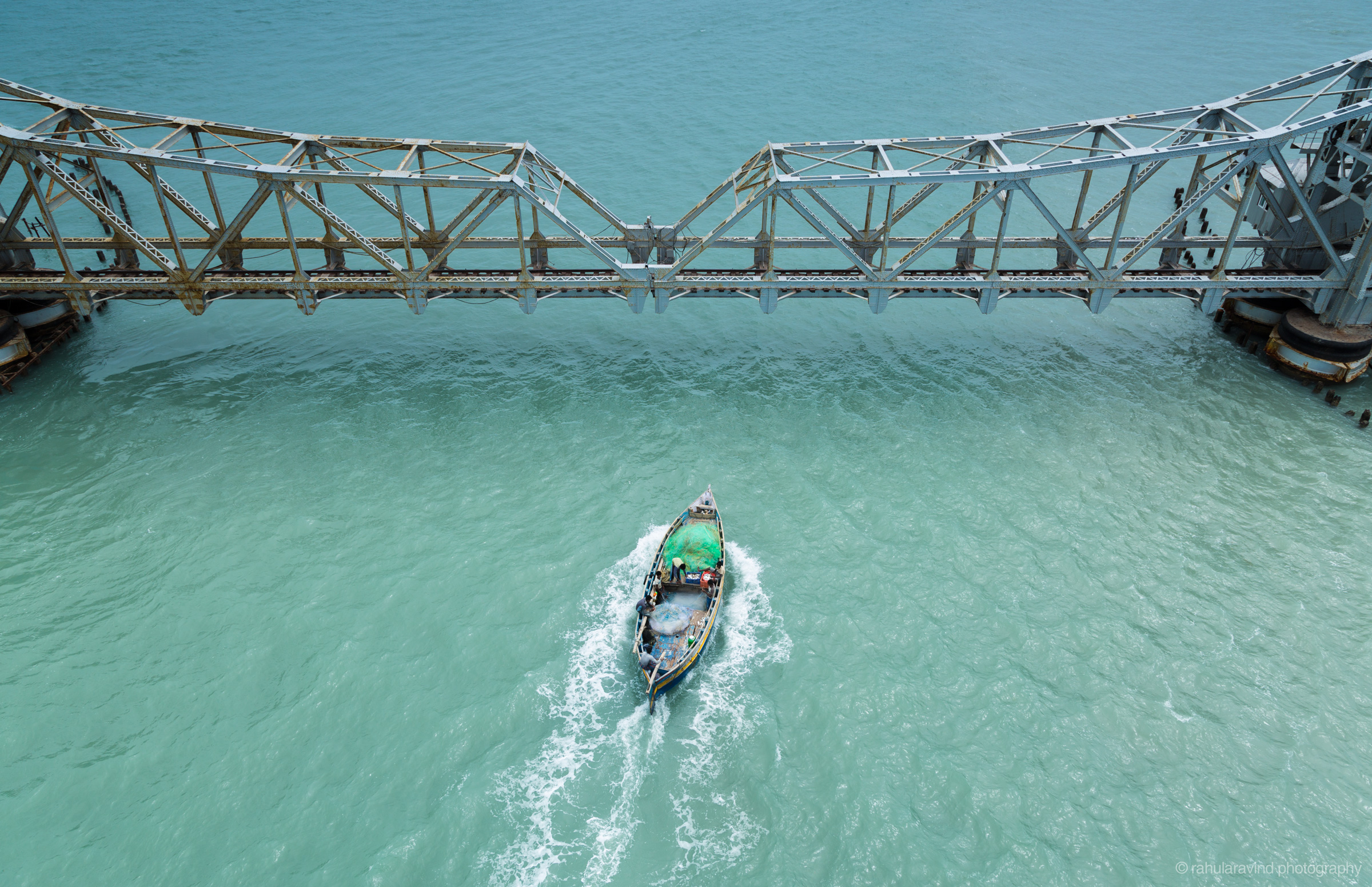 Pamban bridge (Rameshwaram)