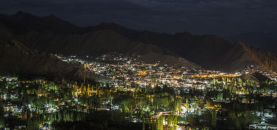 Leh at night