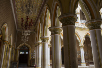 Interiors of Bangalore Palace