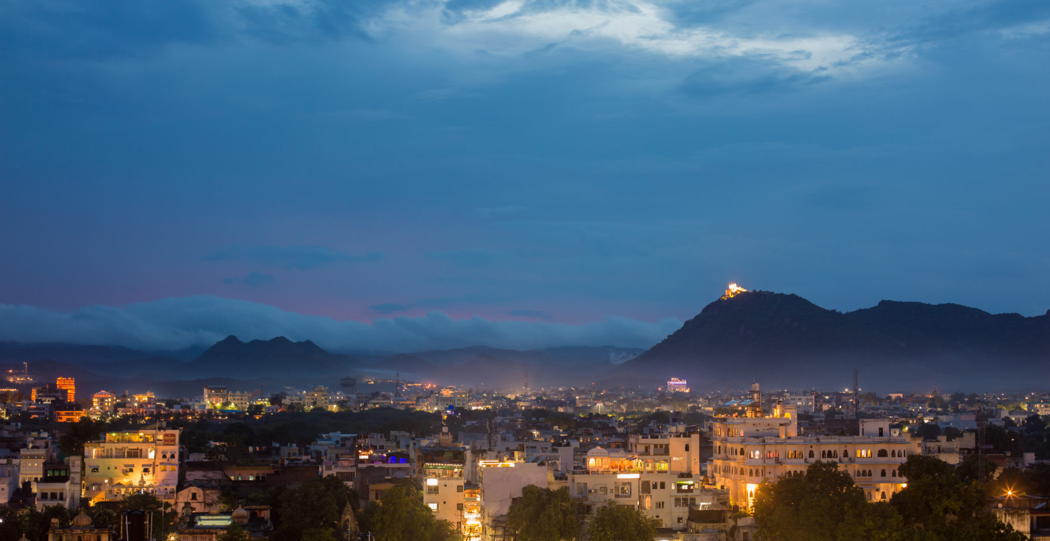 Udaipur city lights